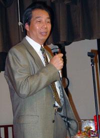 David Tom speaks at Self-Help for the Elderly's CitizenshipDay