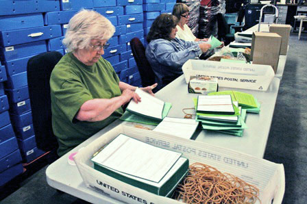 Counting out Election Daysupplies