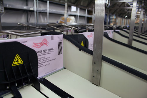 Vote by Mail ballots received on Monday and Tuesday are still being processed at the Elections Office