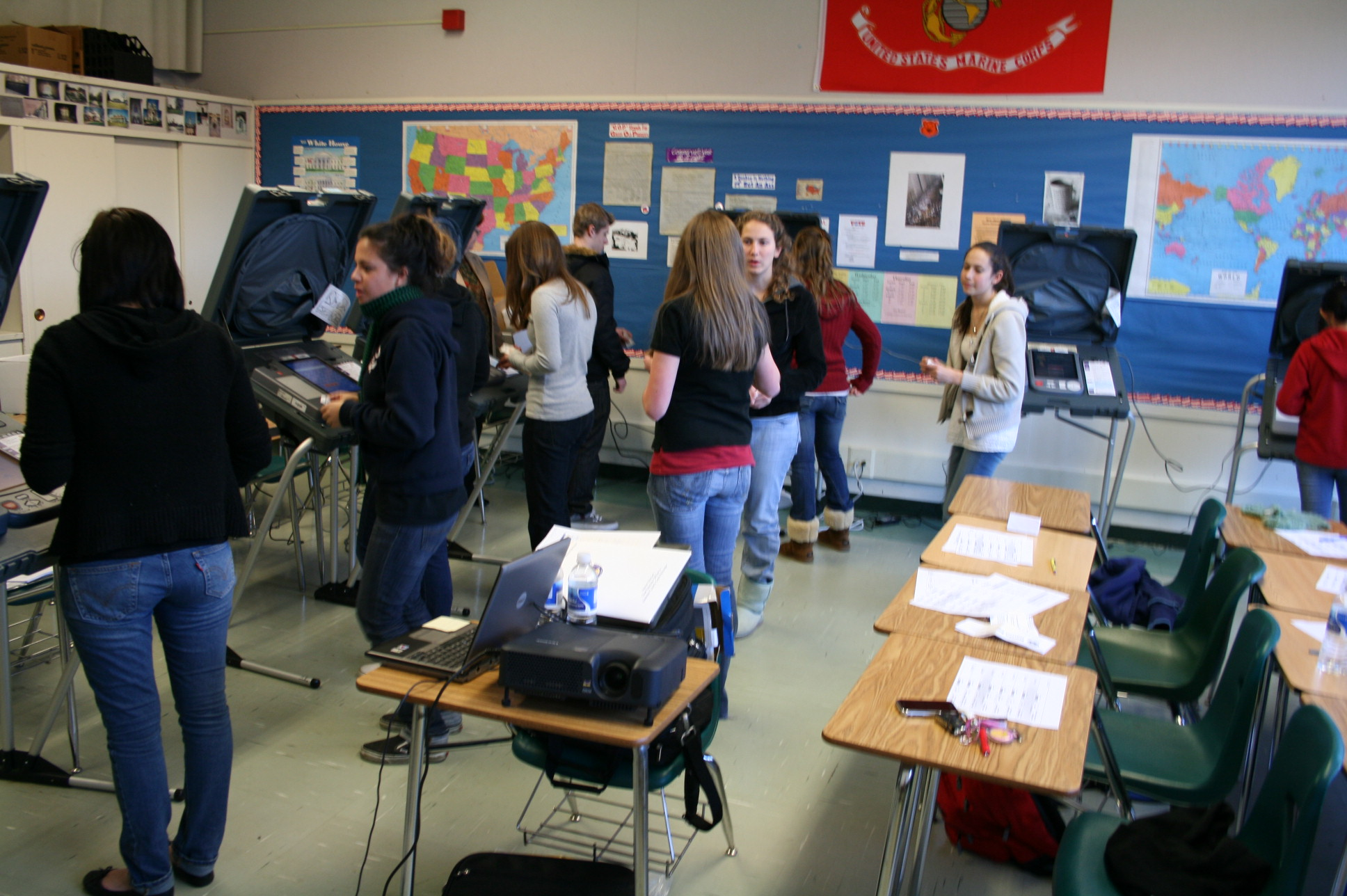 Students Gear Up For Election Day